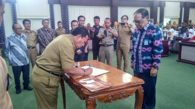Buka Rakor DRD, Gubernur Lampung Minta Dukung Program Pembangunan (3281)