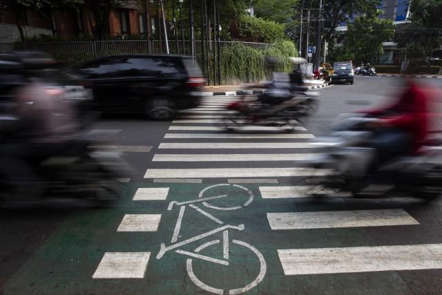 Polisi Duga Pesepeda yang Gowes di Tol Padaleunyi Bandung Masuk Lewat GT Kopo (71323)