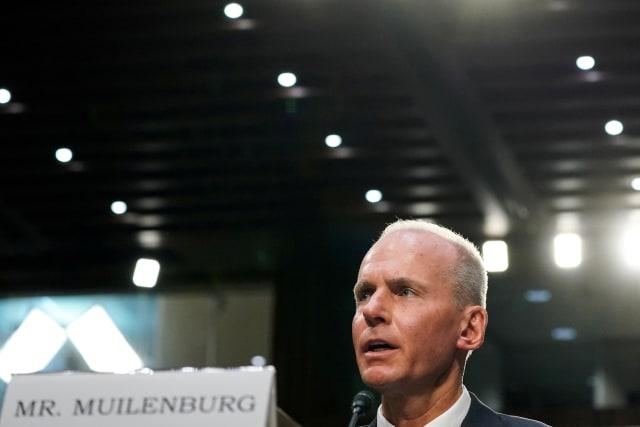 CEO Boeing Dennis Muilenburg