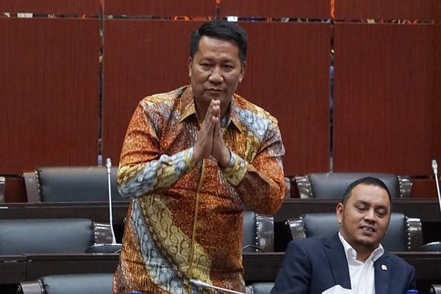 Anggota DPR RI fraksi Gerindra Supratman, Penetapan Pimpinan Badan Legislasi (Baleg) DPR RI