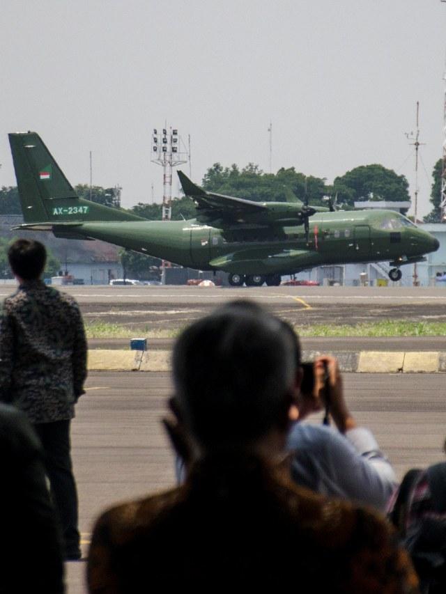 Pesawat terbang CN235-220 Military Transport, POTRAIT