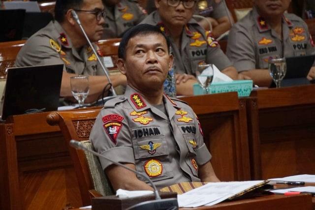 Komisi III: Idham Azis Jabat 14 Bulan, Setelah Itu Ada Kapolri Baru (37429)