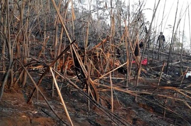 Damkarhutla Ciremai Berhasil Padamkan Api (130782)