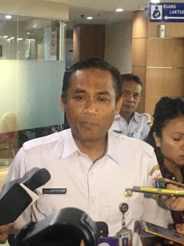 Kepala Dinas Pendidikan DKI Jakarta, Syaifullah, POTRAIT
