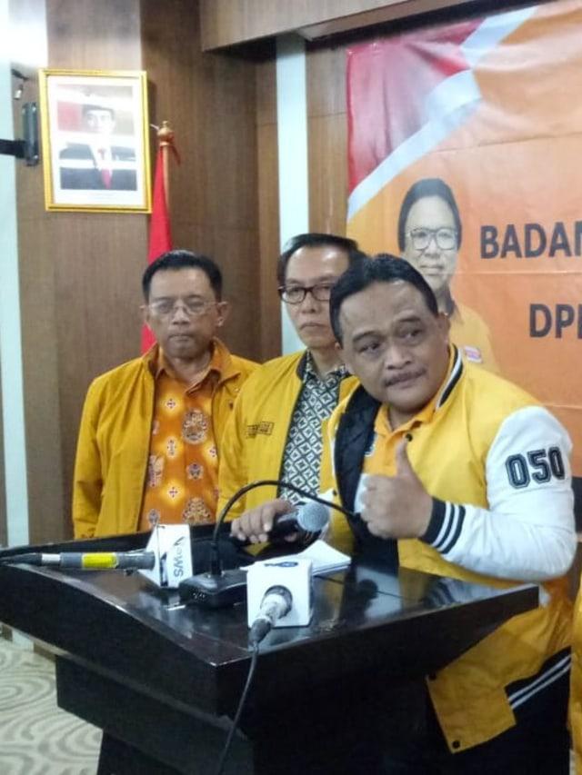 Hanura Legawa Tak Masuk Kabinet: Beban Jokowi Terlalu Banyak (174207)