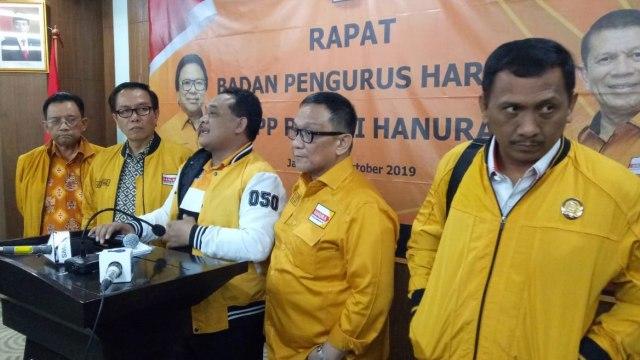 Hanura Legawa Tak Masuk Kabinet: Beban Jokowi Terlalu Banyak (174208)