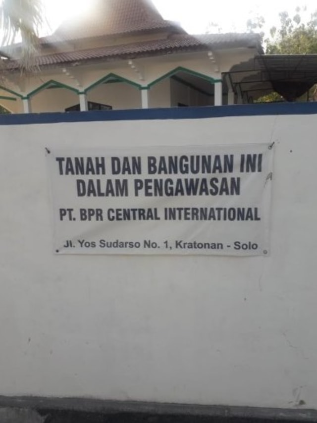 Masjid di Sukoharjo jadi pengawasan BPR, POTRAIT