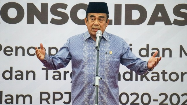 Menag Fachrul Razi: Saya Tak Larang PNS Pakai Cadar, tapi Penutup Muka (524158)