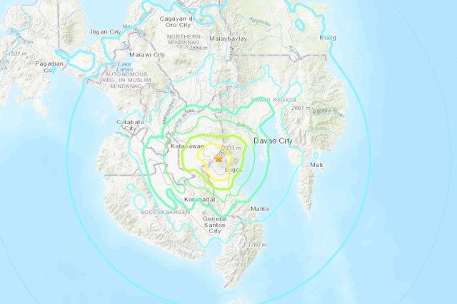 Filipina Kembali Diguncang Gempa Besar, Kali Ini 6,5 Magnitudo (165352)