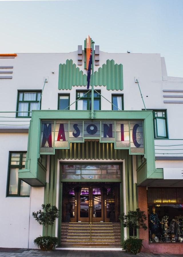 Hotel berhantu di New Zealand (POTRAIT)