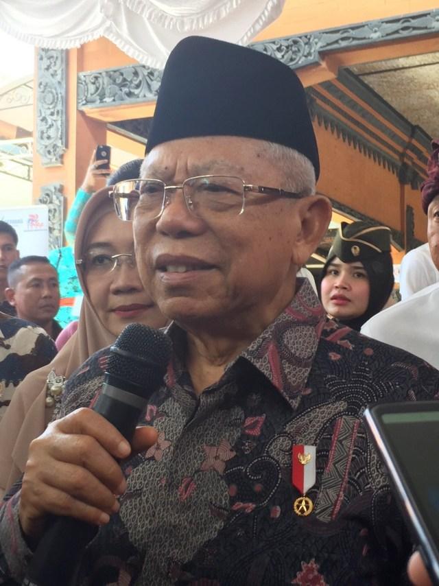 Ma'ruf Amin, Bali, POTRAIT