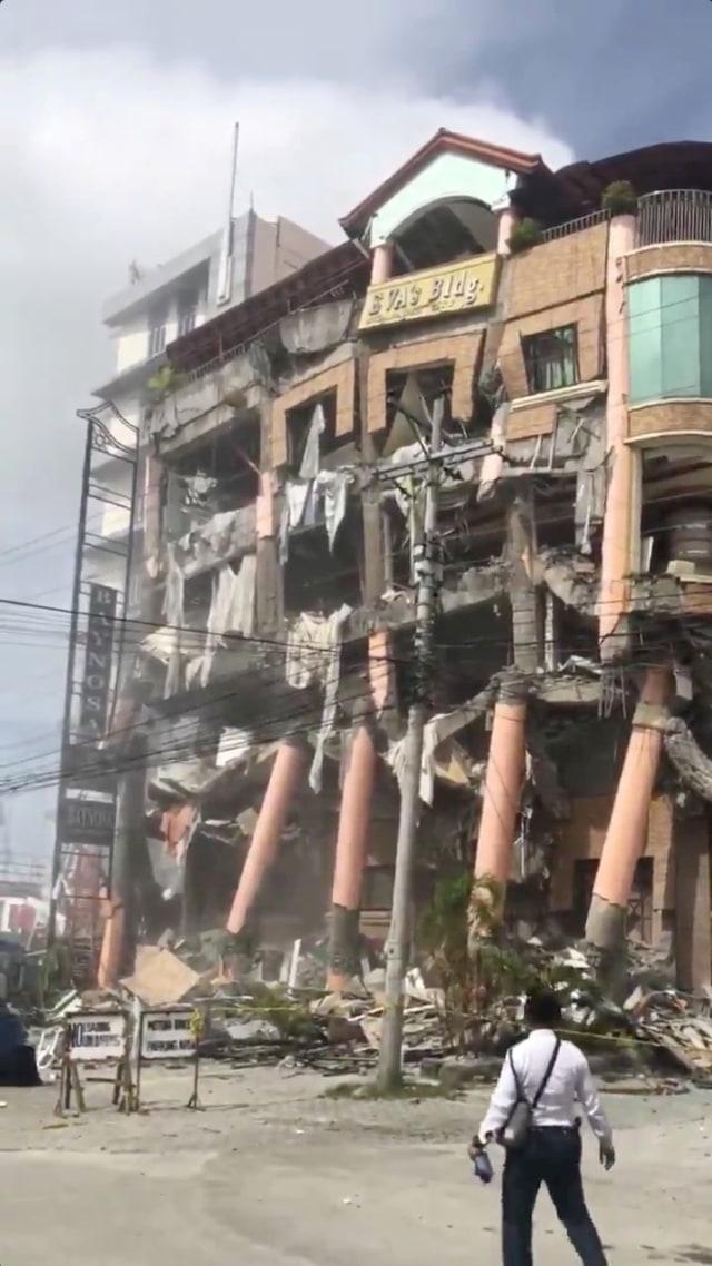 Foto: Gempa Kembali Guncang Filipina Bagian Selatan (101286)
