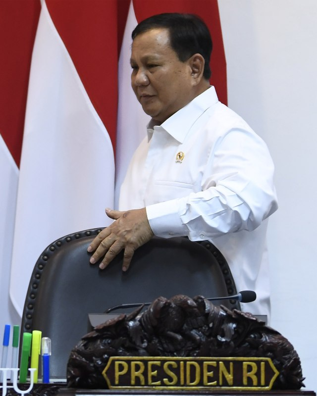 Menteri Pertahanan Prabowo Subianto, POTRAIT