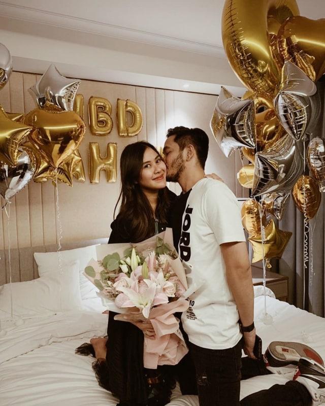 PTR, Kejutan ulang tahun Syahnaz Sadiqah dari Jeje Govinda