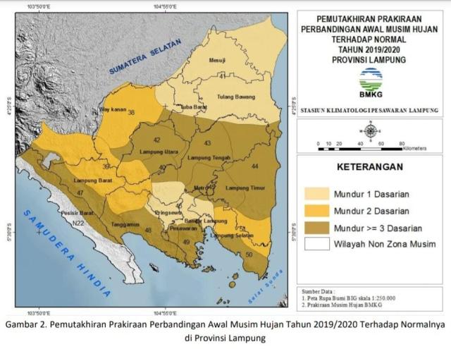 Perkiraan Musim Hujan di Lampung Mundur, Ini Penjelasan ...
