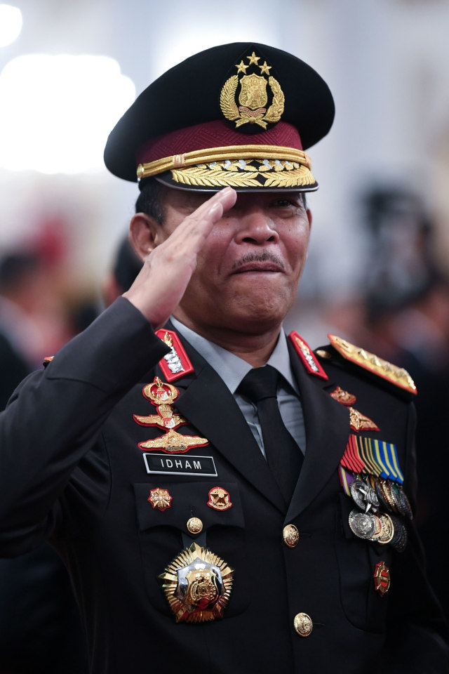 Kapolri Jenderal Pol Idhan Azis