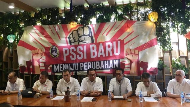 Lipsus PSSI, Caketum PSSI menggelar pertemuan di FX Sudirman