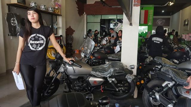 Di Banjarmasin, Benelli Targetkan Penjualan 40 Motor Sebulan (1342539)