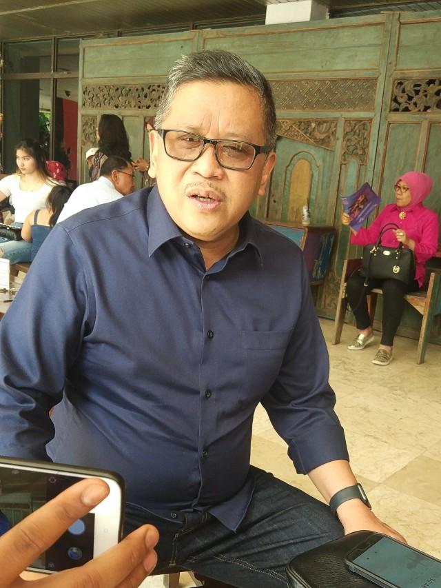 Sekjen PDIP Hasto Kristiyanto di TIM, Menteng, POTRAIT