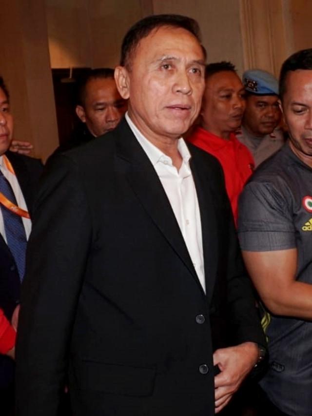 PTR, Lipsus PSSI, Ketua PSSI terpilih Mochamad Iriawan