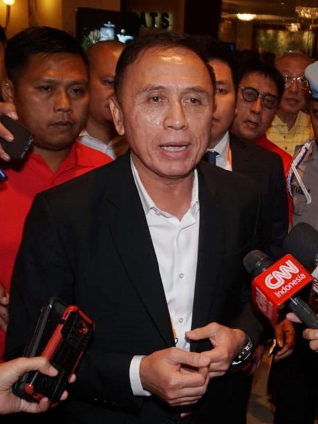 POTRAIT, Ketua PSSI terpilih Mochamad Iriawan