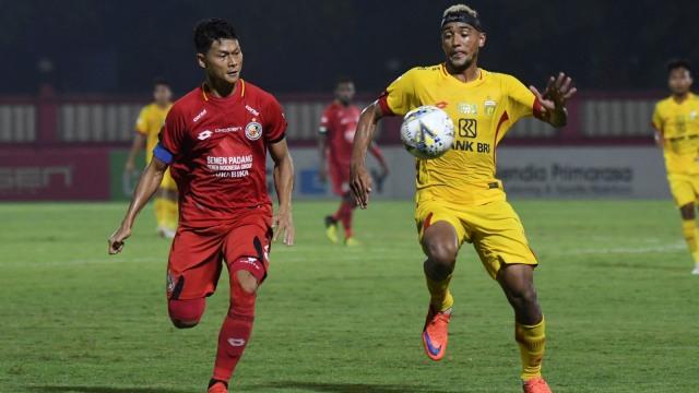 Semen Padang FC vs Bhayangkara FC