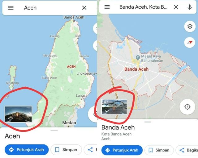 Warganet Heboh Pria Telanjang Tampil Di Google Maps Aceh Kumparan Com