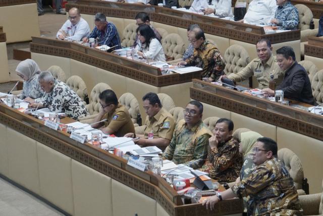 RDP Komisi II DPR