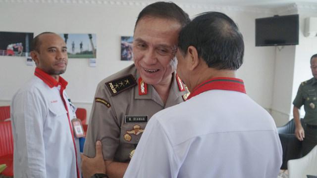 Menpora Zainudin Amali, Mochamad Iriawan, iwan bule