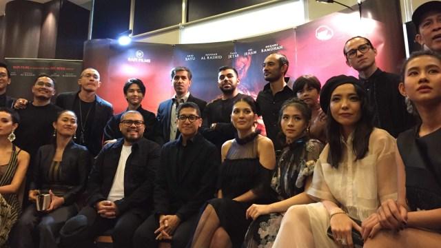 Konferensi pers film 'Ratu Ilmu Hitam'