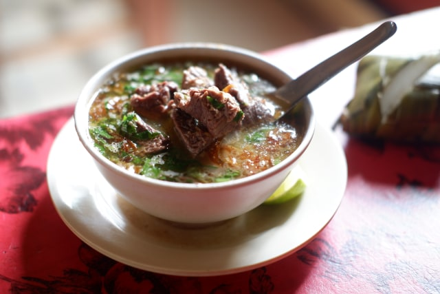 Menyantap Kuliner Khas Jeneponto, Sulsel, yang Dibuat dari Daging Kuda (480418)