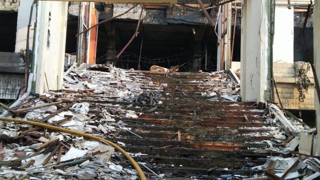 Setelah 8 Jam, Kebakaran Gedung Hailai Ancol Berhasil Dipadamkan (13520)