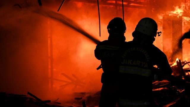 Polisi Periksa 6 Saksi Terkait Kebakaran Hailai Ancol (5604)
