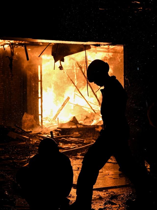 Polisi Periksa 6 Saksi Terkait Kebakaran Hailai Ancol (5602)