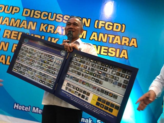 BNN Beri Toleransi Kratom hingga 2022  (95971)