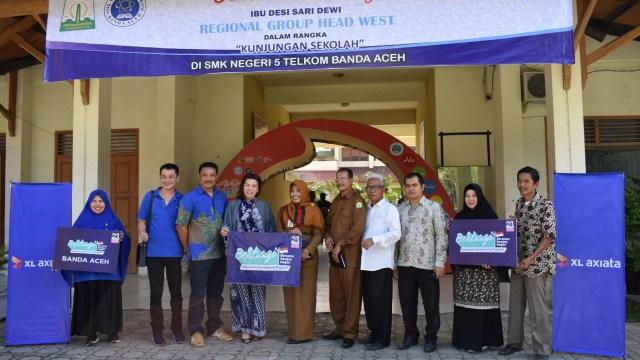 Gunakan Internet Secara Positif, XL Edukasi Pelajar di Aceh (766255)