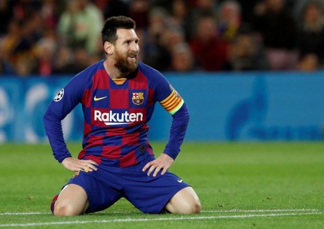 Lawan Dortmund, Bisakah Messi Cetak Gol di Kandang? (284105)