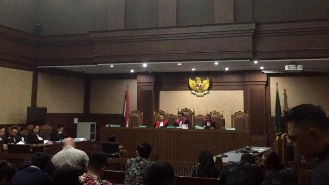 Mantan Anggota DPR RI Bowo Sidik Pangarso jalani sidang tuntutan di pengadilan Tipikor, Jakarta Pusat
