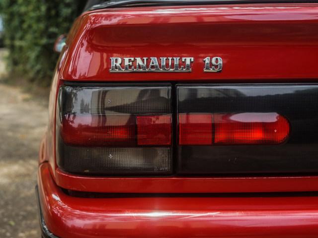 Renault 19 Cabriolet