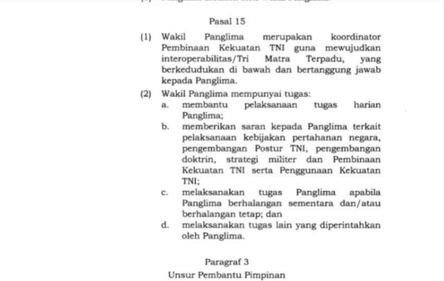 Jokowi Teken Keputusan Jabatan Wakil Panglima TNI (13974)