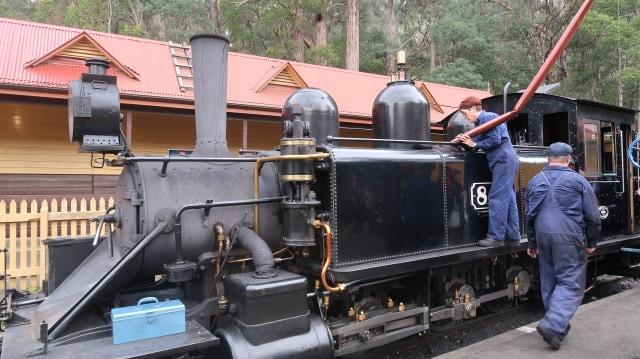Sensasi Jadul Puffing Billy,  Kereta Uap di Australia (23639)