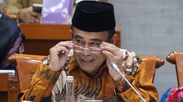Menag Fachrul Razi rapat perdana dengan komisi VIII