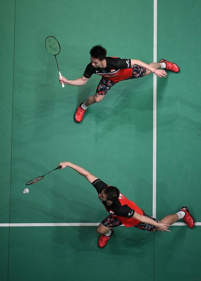 Fuzhou China Open: Singkirkan Ganda Jerman, Marcus/Kevin ke Semifinal (104956)