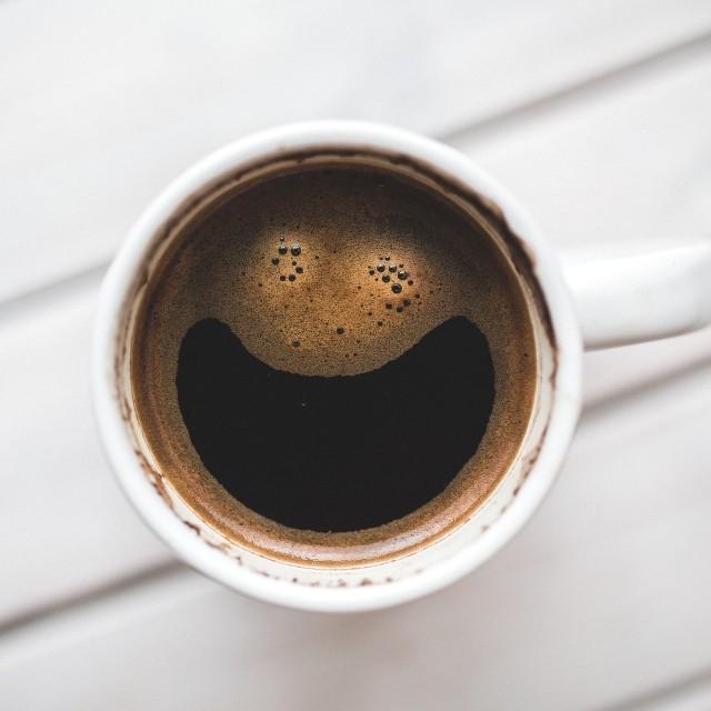 Ilustrasi kopi hitam.
