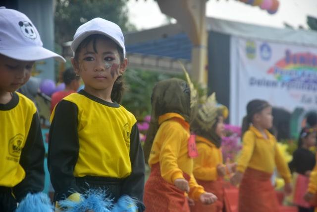 Foto : Berbagai Atraksi Anak-anak Usia Dini di Gebyar PAUD 2019 (4845)
