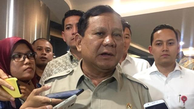 Prabowo soal Ledakan di Monas Akibat Granat: Tunggu Investigasi (39025)
