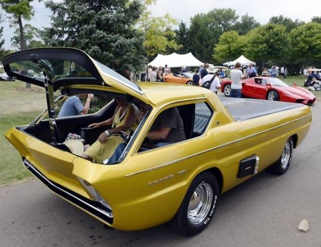 Mengenal Dodge Deora, Pikap Futuristik yang Lahir Tahun 1967 (32675)