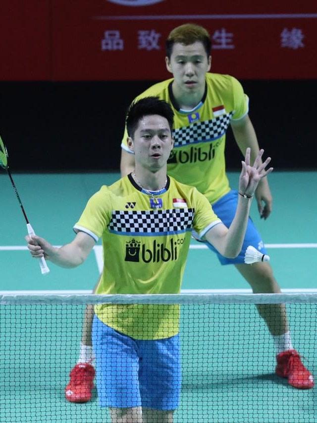 Fuzhou China Open 2019, Kevin dan Marcus Gideon, POTRAIT