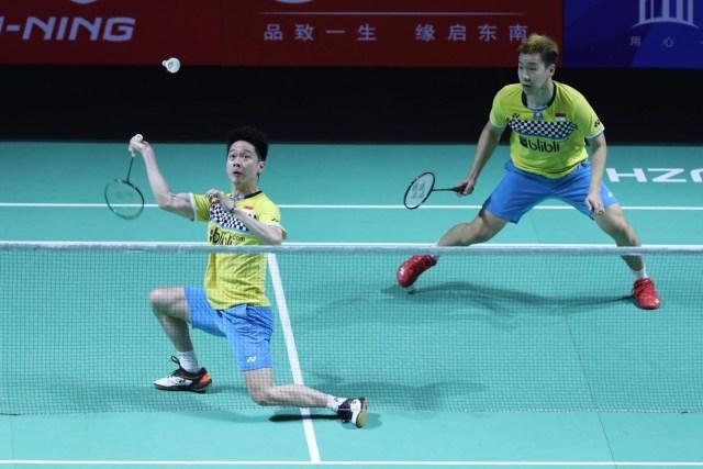 Fuzhou China Open 2019, Kevin dan Marcus Gideon