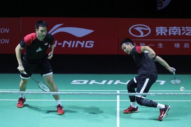 Fuzhou China Open 2019, Ahsan dan Hendra
